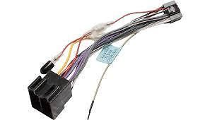 JVC KD-R851BT KDR851BT  Power Loom Wiring Harness Lead  ISO