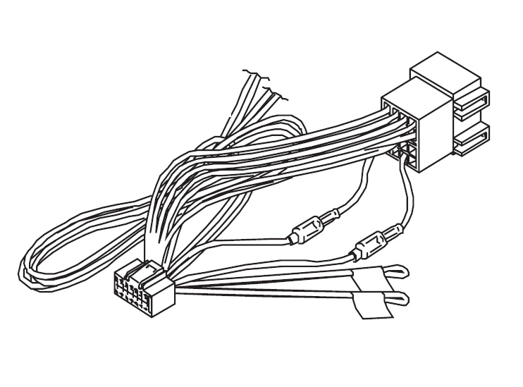 Iso Wiring Harnes