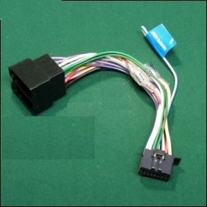 Kenwood KDC-210UI KDC210UI KDC 210UI Power Wiring Harness Lead ISO
